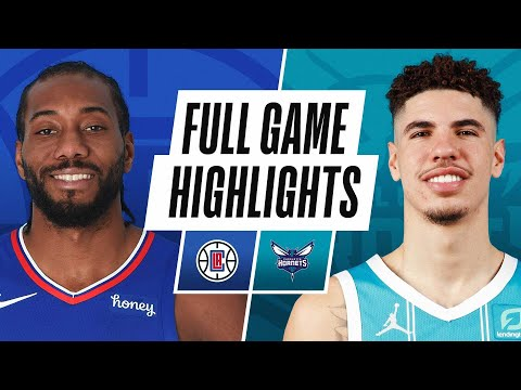 CLIPPERS at HORNETS | FULL GAME HIGHLIGHTS | May 13, 2021