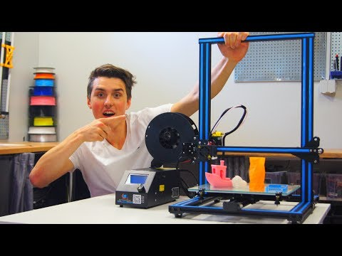 Creality CR-10 Full Review – BEST 3D PRINTER!!!