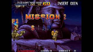Metal Slug 2: Super Vehicle-001/II (Arcade) - (Longplay - Marco | Level 8 Difficulty | All Secrets)