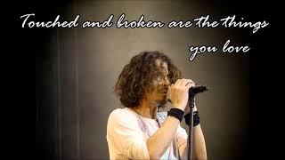 Chris Cornell - Sweet Euphoria - Lyrics on the Screen
