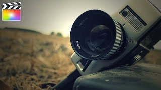 35mm film effect final cut pro - TH-Clip