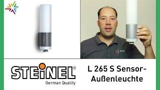 STEINEL L 265 S - Design Sensor Außenleuchte [watt24-Video Nr. 108]