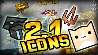 How To Unlock All Geometry Dash 2.1 Icons