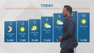 Morning weather forecast 2-15-2019