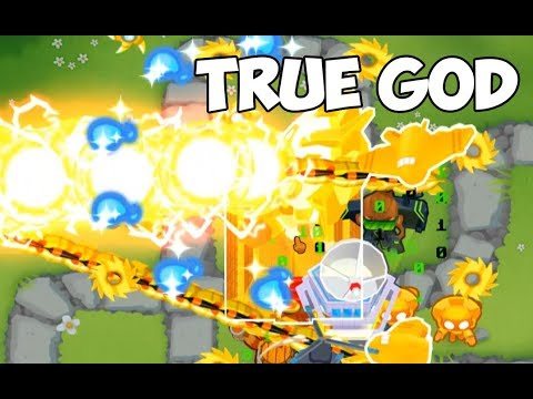 BLOONS TD6 - FASTEST TRUE SUN GOD EVER!!! - смотреть онлайн