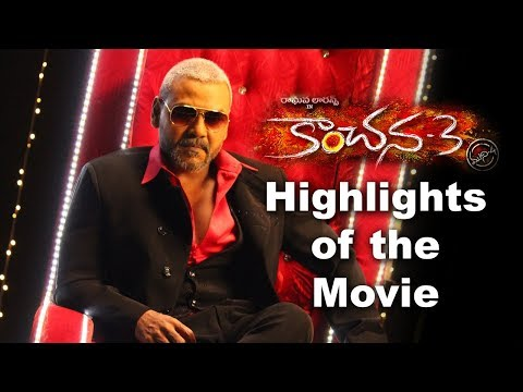 Highlights About The Movie Kanchana 3
