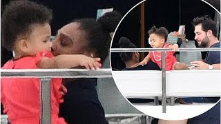 Sport Serena Williams joins daughter and Alexis Ohanian on asuperyacht