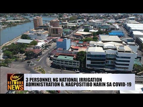 [DZRH]  3 PERSONNEL NG NATIONAL IRRIGATION ADMINISTRATION 6, NAGPOSITIBO NARIN SA COVID-19