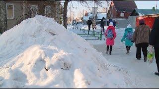 Кто должен вывозить снег из дворов / Новости