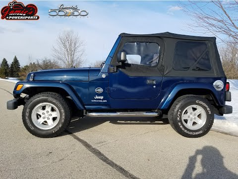 2005 Jeep® Wrangler Rocky Mountain Edition in Big Bend, Wisconsin - Video 2
