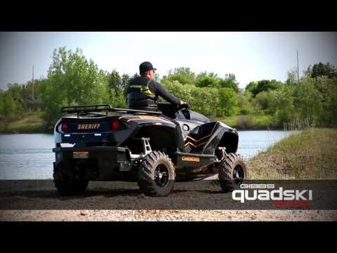 Quadski XL Patrol メーカープロモーション動画