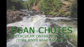 Egan Chutes, spectacular Ontario waterfall.