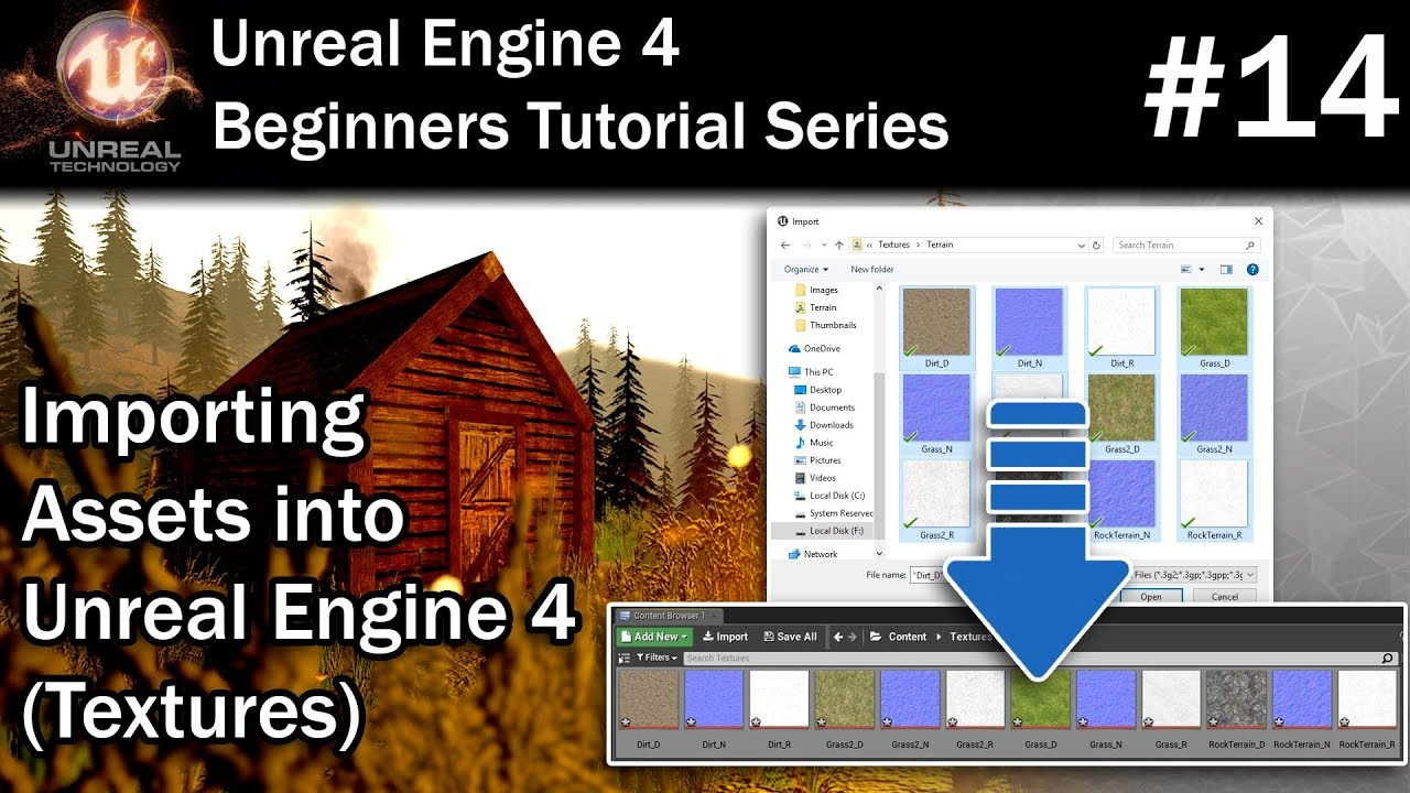 #14 How to Import Textures into Unreal Engine 4 | UE4 Tutorial