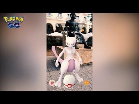 Pokémon GO Mewtwo EX Raid   AR+
