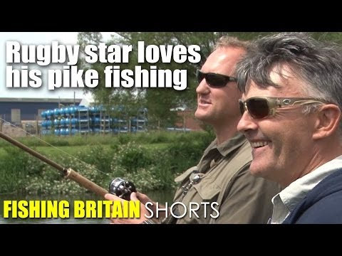 Rugby star loves his pike fishing