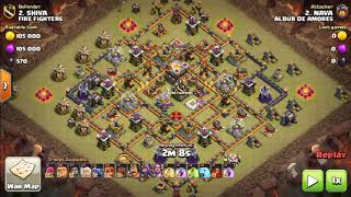 How to max townhall 11 base clear3 star