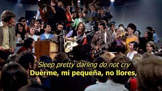 Golden slumbers/Carry that weight - The Beatles (LYRICS/LETRA) [Original]