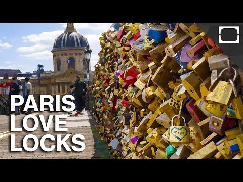 The End Of Paris Love Locks