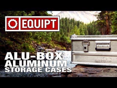 Alu-Box Aluminum Storage Cases