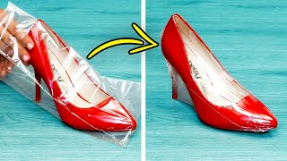 28 USEFUL CLOTHING AND PACKING HACKS