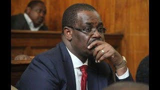 HAPPENING NOW: Battery of Lawyer fill courtroom as Kidero answers to charges