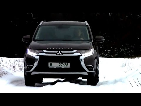 2016 Mitsubishi Outlander Off road Driving footage