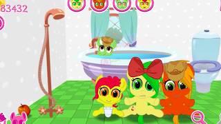 Растим Семью ЭПЛОВ. Карманная пони. Мультик игра для детей. My little pony. дружба это чудо