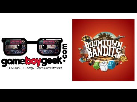 The Game Boy Geek Reviews Boomtown Bandits
