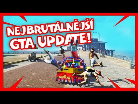 NEJBRUTÁLNĚJŠÍ GTA UPDATE! | HouseBox
