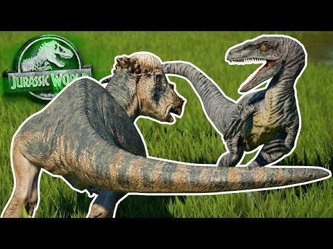 NEW KILL ANIMATIONS! | Battle Royal  - Jurassic World Evolution | HD