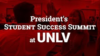 President\'s Student Success Summit Recap
