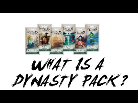 What is a Dynasty Pack for Legend of the Five Rings (L5R) LCG – Imperial Chronicle