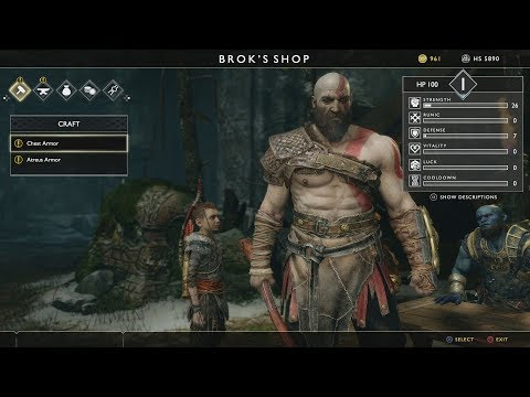 Download God Of War 4 15 Minutes Of Gameplay Walkthrough Ps4 2018