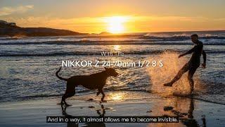YouTube Video kc9I8FZAjyA for Product Nikon NIKKOR Z 24-70mm F/2.8 S Lens by Company Nikon in Industry Lenses