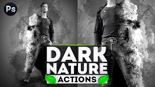 Уроки Фотошопа. Dark Nature Photoshop Action
