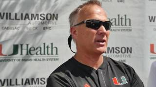 Hear what Mark Richt had to say after today's scrimmage: