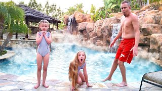 Turning Our Pool Into the World's Biggest Hot Tub!!!
