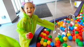 ВЛОГ Диана и Рома играют в Детском музее Oli Oli в Дубае