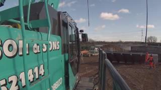 MUST WATCH!!!! crane operating