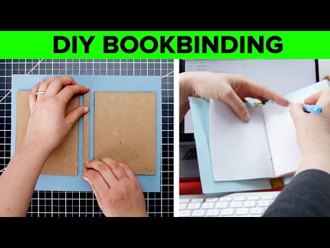 DIY Hard Cover Bookbinding