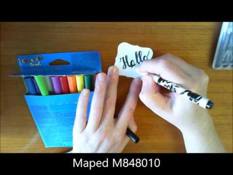 Handlettering Materialien