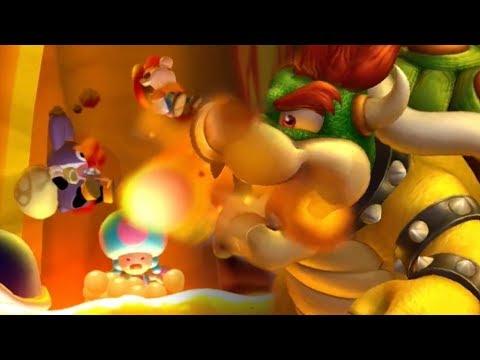 New Super Mario Bros U Deluxe Walkthrough - Nabbit's Infinite Lives