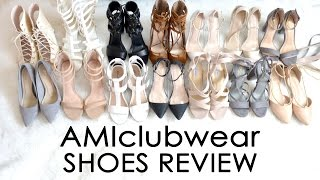 AMIclubwear High Heels REVIEW // Super Cheap Prices // 14 Pairs Of Shoes // Try-on & Review