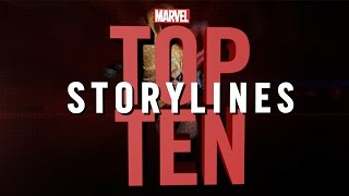 Marvel Top 10 Storylines
