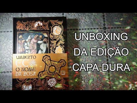 Unboxing de O nome da rosa, de Umberto Eco (edição capa dura)