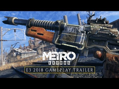 Metro Exodus - E3 2018 Gameplay Trailer (Official 4K) thumbnail