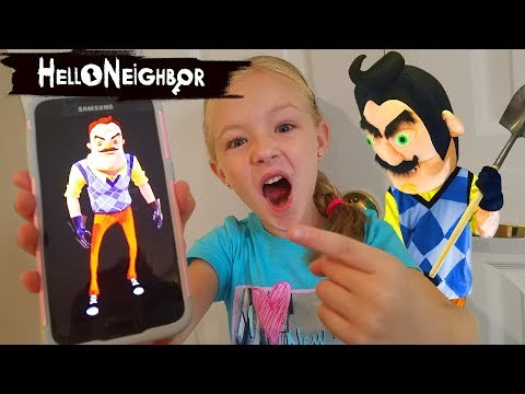 Calling Hello Neighbor In Real Life! OMG He Answered!!! We Prank Him And Escape The House!