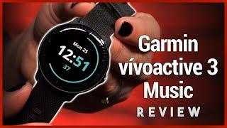 Garmin vívoactive 3 Music Review - GPS Smartwatch with Spotify