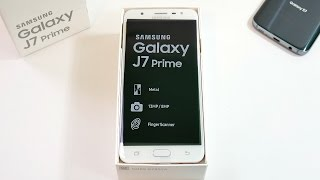 Samsung Galaxy J7 Prime Unboxing & First Look!