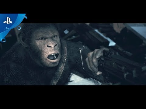 Planet of the Apes: Last Frontier - Launch Announcement Trailer | PS4 thumbnail